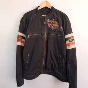 Harley Davidson Nylon Motorclub Black Jacket